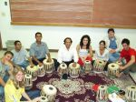 Conducting Indian Music Class